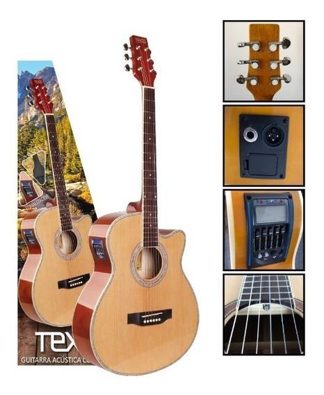 Guitarra Electroacustica Texas Ag60-lc5-nat