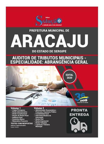 Apostila Pref Aracaju Auditor Tributos Municipais Livro