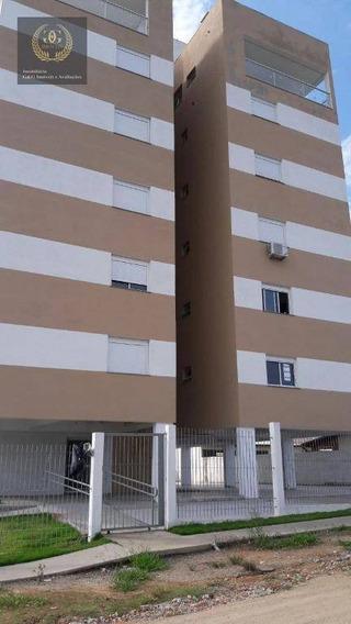 Apartamento Com 2 Dormitórios À Venda, 61 M² Por R$ 210.000,00 - Santa Cecília - Viamão/rs - Ap0071