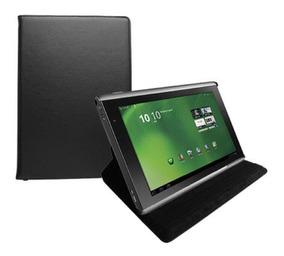 Capa Para Acer Iconia A500 Giratoria Preta 10.1