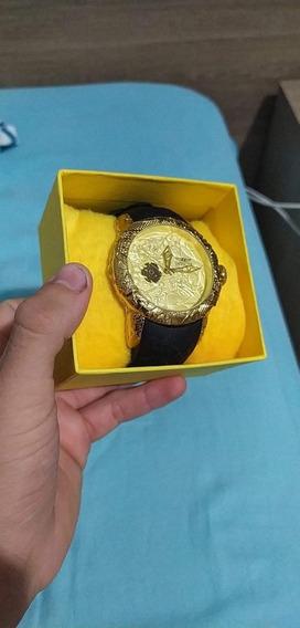 Relógio Original Banhado A Ouro