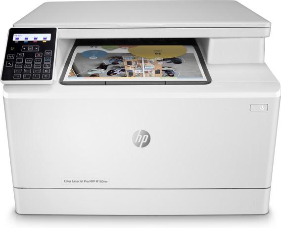 Impresora Laser Multifuncional Inalambrica Hp M180nw Color