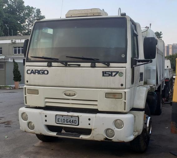 Caminhao Ford Cargo 1519 4x2 Comboio 5.000 Litros Ano 2009