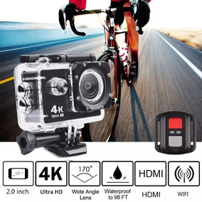 Camera Action Cam Sports Wifi Prova D´agua 4k Com Controle