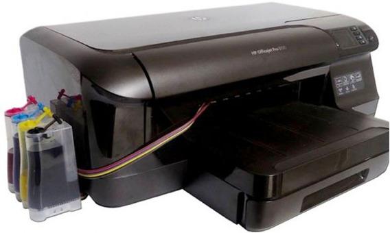 Impressora Hp Pro 8100 Com Bulk Ink