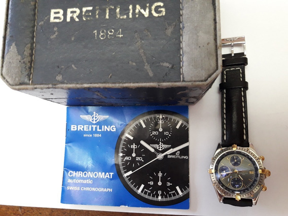 Breitling Chronomat Automatic Chronograph Completo!!