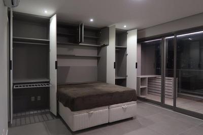 Apartamento Em Brooklin, São Paulo/sp De 41m² 1 Quartos À Venda Por R$ 750.000,00para Locação R$ 3.600,00/mes - Ap173392lr