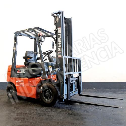 Autoelevador Heli 1500 Kg Diesel Cpcd15 Xinchai Desplazador