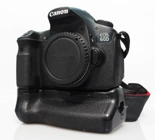 Canon 60d Dslr Ef-s 18mb - Ótimo Estado