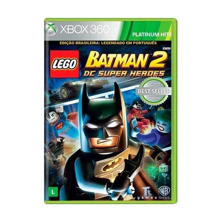 Lego Batman 2 Xbox 360 Semi Novo Mídia Física Original