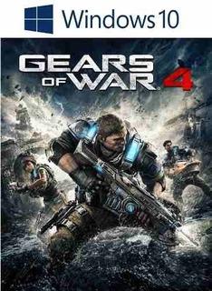 Gears Of Wars 4 Pc Windows 10 Modo Conectado