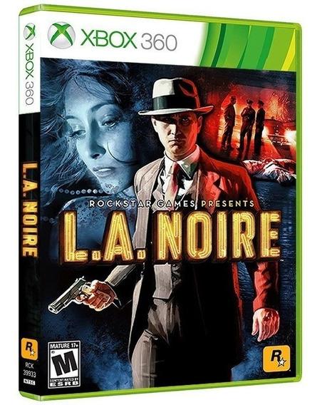 La Noire - Midia Fisica Original Lacrado - Xbox 360