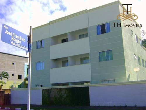 Apartamento Com 2 Dormitórios À Venda, 65 M² Por R$ 280.000,00 - Nova Esperança - Balneário Camboriú/sc - Ap0888