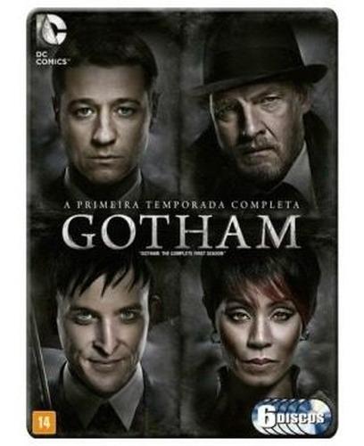 Dvd Box Gotham 1ª Temporada 6 Discos