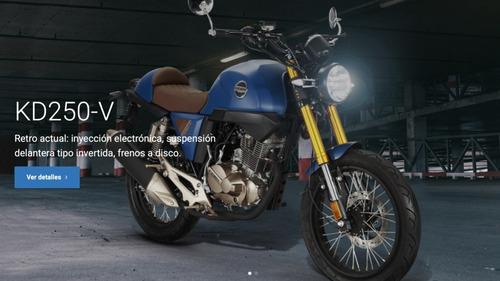 Kiden 250 Cafe Racer By Ceccato Scrambler Sportbike Zontes