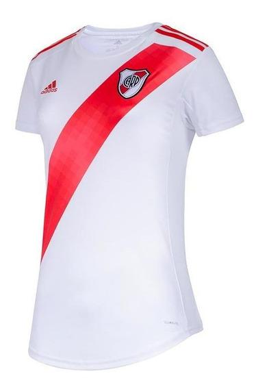 Camiseta adidas River Plate 19 Oficial De Mujer Fm1181