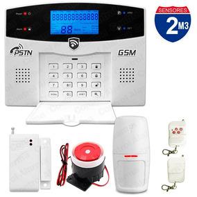 Kit 2 Alarma Gsm Tel Alertas Gsm Inalambrica Vecinal Casa M3
