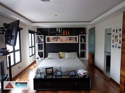 Studio Com 1 Dormitório À Venda, 70 M² Por R$ 620.000,00 - Jardim Anália Franco - São Paulo/sp - St0051