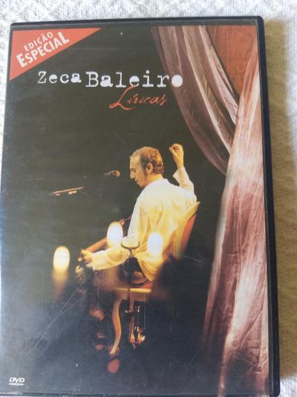 Dvd Especial Zeca Baleiro Líricas