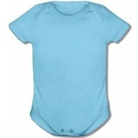 3 Bodie Bebê Liso Do Tamanho P Ao Gg - 100% Algodão