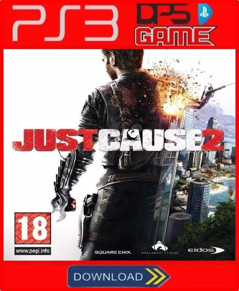 Just Cause 2 Ps3 Psn Digital Envio Rápido Promoção