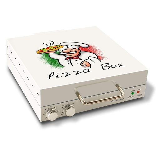Grill Pizza Box Elétrica Assar Pizza Aquecer 30cm 220 V