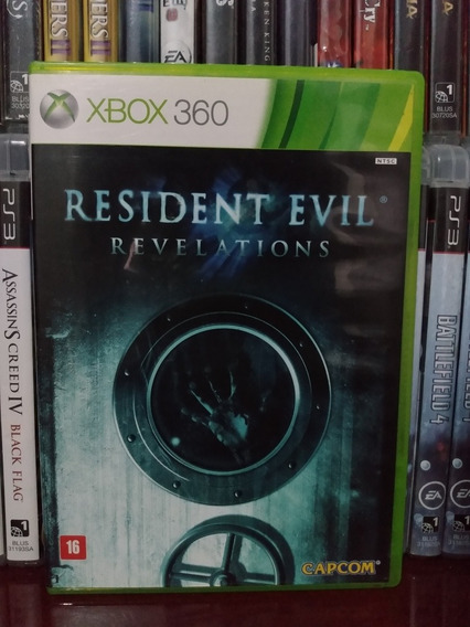 Resident Revelations Original Xbox 360 | Parcel. Sem Juros