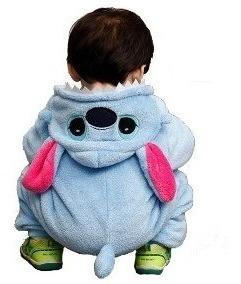 Pijama Mameluco Kigurumi Stitch Bebés Envío Gratis