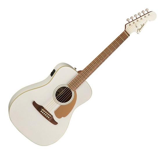 Violao Fender Malibu Player Arctic Gold Captação Fishman
