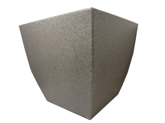 Vaso Planta De Plástico Quadrado Pequeno Frete Grátis Pedra