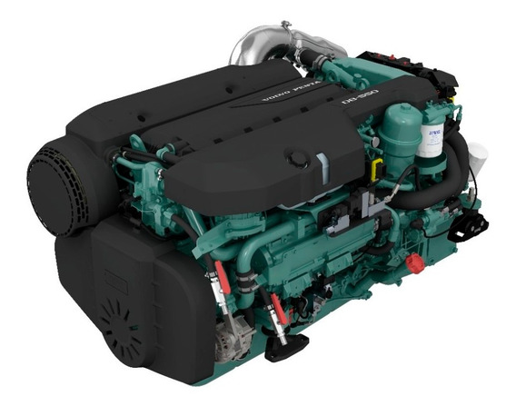 Motor Diesel Volvo Penta D8 550hp + Reversor P/ Barco Lancha