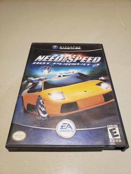 Need For Speed Hot Pursuit 2 Nintendo Gamecube Original Amer