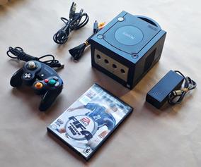 Console Nintendo Gamecube Original Preto Controle Frete Grát