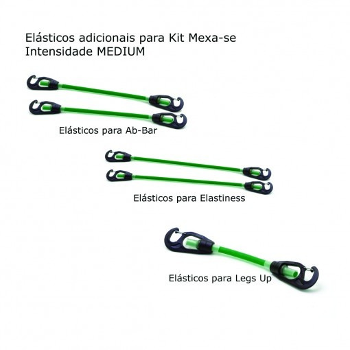 Elástico Adicional Kit Mexa-se Medium - Cepall