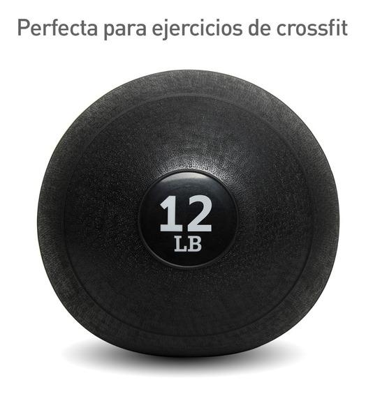 Balon Medicinal Crossfit Slam Ball Antiestrés 12 Lb -5.44 Kg