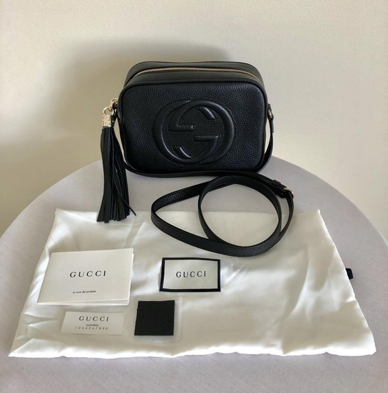 Gucci Bolsa Crossbody Disco Soho Original 100%