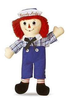 Aurora World Raggedy Andy Classic Doll 16