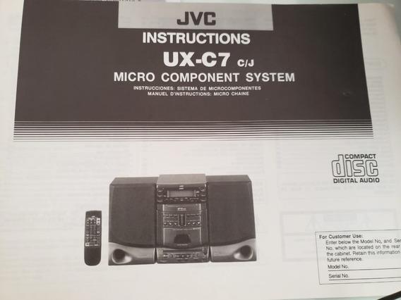 Aparelho De Som Jvc Ux-c7
