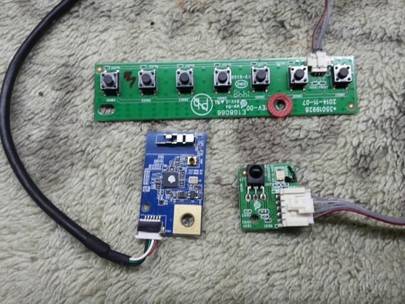 Placa Wifi Controle Teclado Tv Philco Ph42m30dsgw