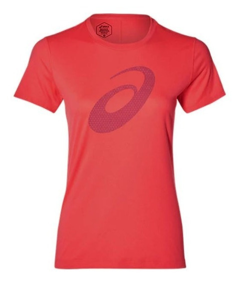 Remera Asics Slvr Graphic Ss Top Mujer Running