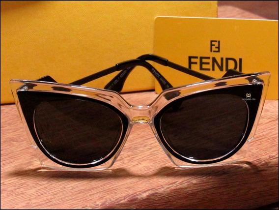 Óculos De Sol Fendi Orchidea Unisexx Já No Brasil °1078°