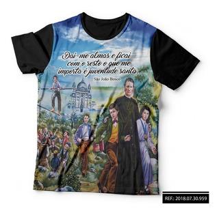 Camisa Camiseta Religiosa São Joao Batista Cristã Deus Jesus
