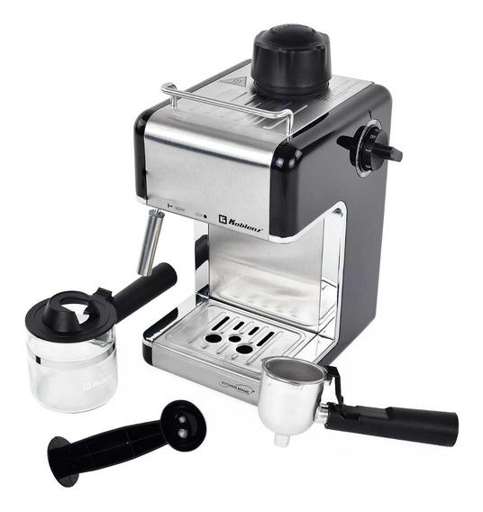 Cafetera Espresso Koblenz Ckm-650 Ein Cappuccino Cap 4 Tazas