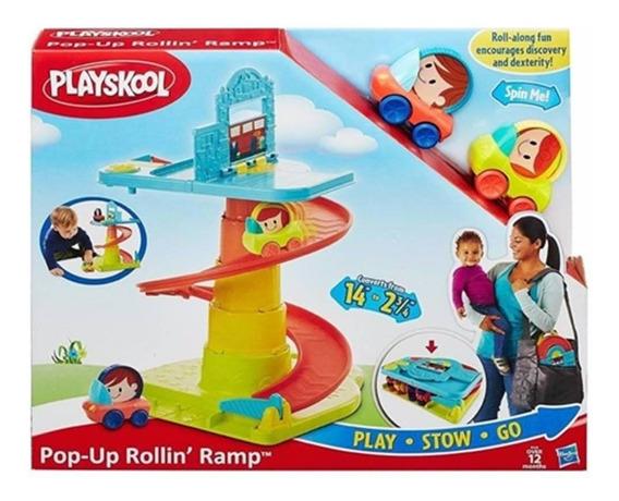 Brinquedo Playskool Rampa Com Veículos B1649 - Hasbro