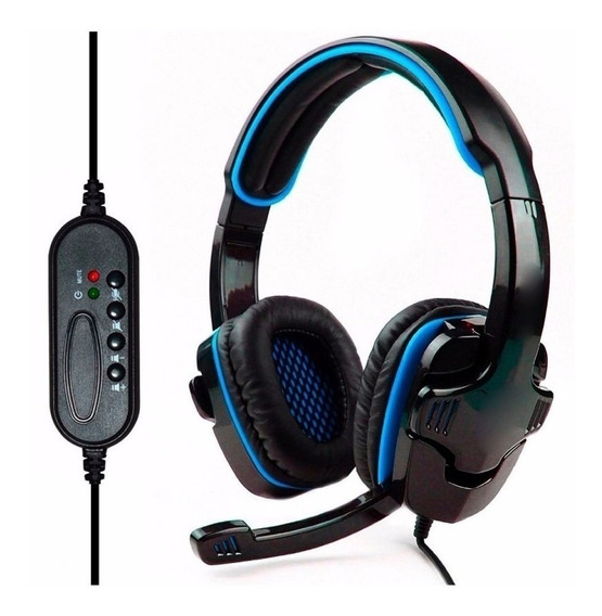 Fone De Ouvido Headphone Usb Knup Pc Ps3 Ps4 Xbox Kp-359