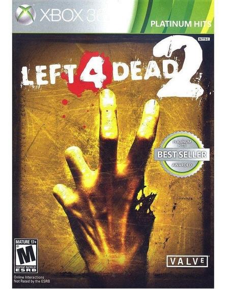 Left 4 Dead 2 - Xbox 360 - Novo - Mídia Física