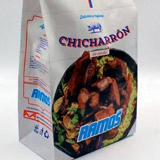 1 Kg Delicioso Chicharrón Cerdo Carnicería Ramos Monterrey