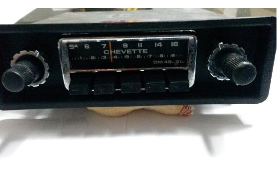 Rádio Original Com Inscrição Chevette Motorádio (motorola)