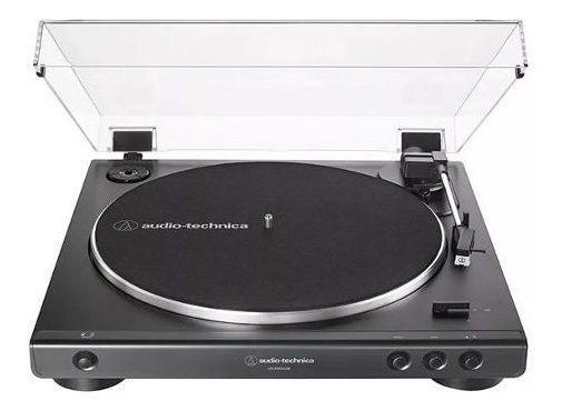 Toca Disco Audio-technica At-lp60xusb-bk