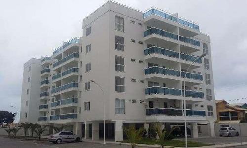 Excelente Apartamento Com 3 Dormitórios À Venda, 82 M² Por R$ 300.000 - Recreio - Rio Das Ostras/rj - Ap0436